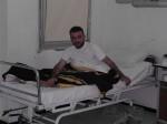 Vojak v nemocnici